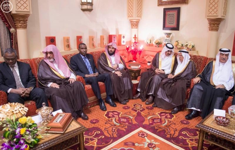 خادم الحرمين الشريفين يستقبل رئيس جمهورية السودان11