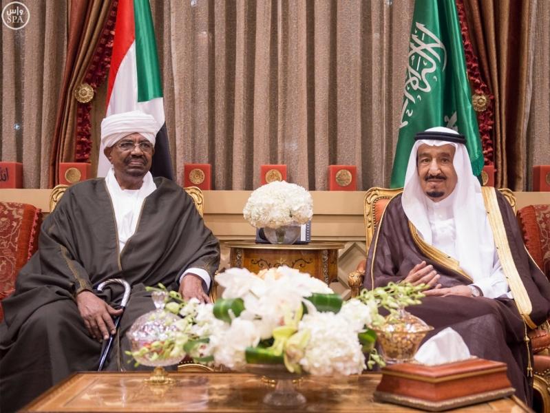 خادم الحرمين الشريفين يستقبل رئيس جمهورية السودان5