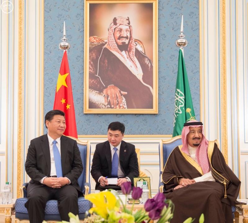 خادم الحرمين الشريفين يستقبل رئيس جمهورية الصين الشعبية ويقيم مأدبة غداء تكريما له2