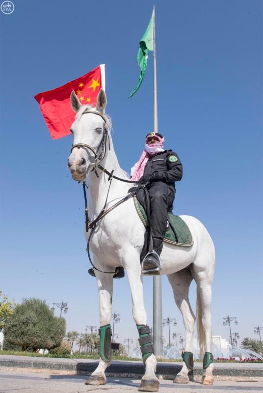 خادم الحرمين الشريفين يستقبل رئيس جمهورية الصين الشعبية ويقيم مأدبة غداء تكريما له20