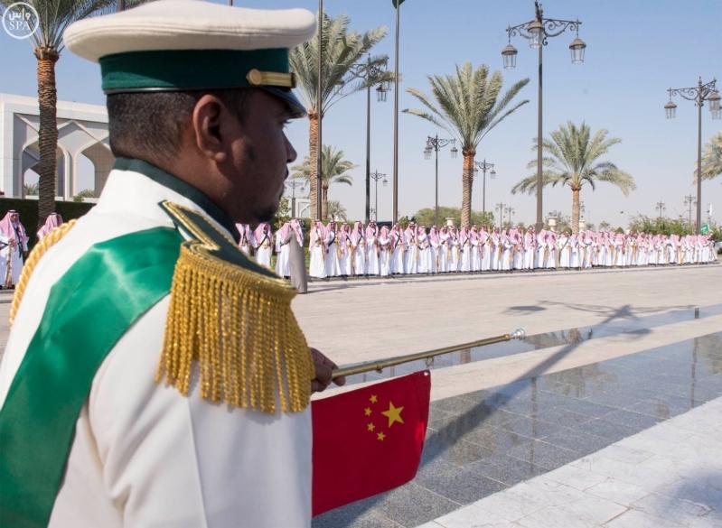خادم الحرمين الشريفين يستقبل رئيس جمهورية الصين الشعبية ويقيم مأدبة غداء تكريما له21