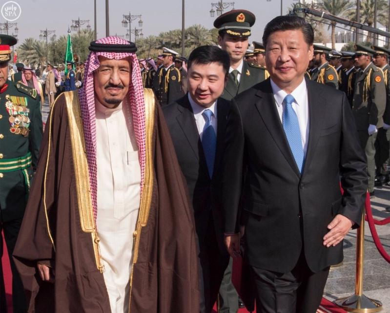 خادم الحرمين الشريفين يستقبل رئيس جمهورية الصين الشعبية ويقيم مأدبة غداء تكريما له8