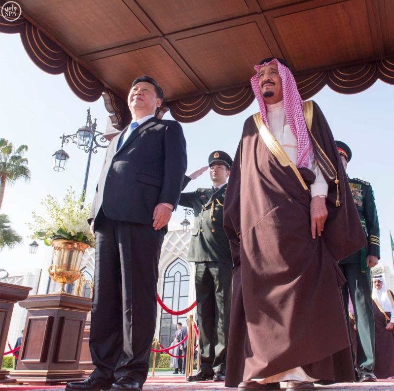 خادم الحرمين الشريفين يستقبل رئيس جمهورية الصين الشعبية ويقيم مأدبة غداء تكريما له9