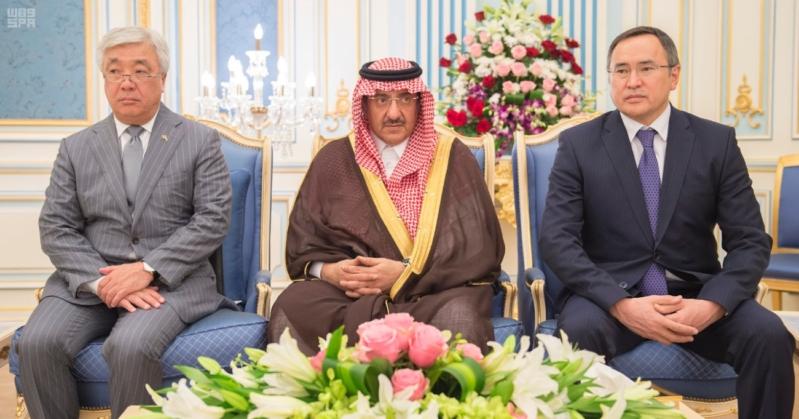 خادم الحرمين الشريفين يستقبل رئيس جمهورية كازاخستان ويقيم له مأدبة غداء 2