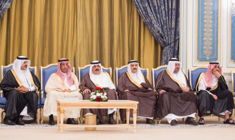 خادم الحرمين الشريفين يستقبل رئيس جمهورية كازاخستان ويقيم له مأدبة غداء
