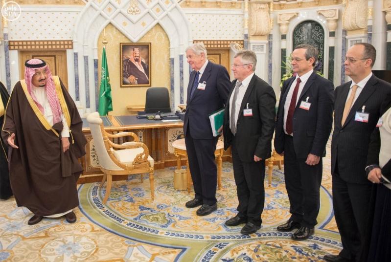 خادم الحرمين الشريفين يستقبل رئيس وفد الجمعية البرلمانية في منظمة حلف شمال الأطلسي5