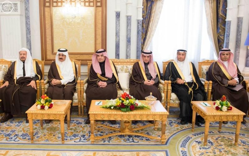خادم الحرمين الشريفين يستقبل رئيس وفد الجمعية البرلمانية في منظمة حلف شمال الأطلسي7