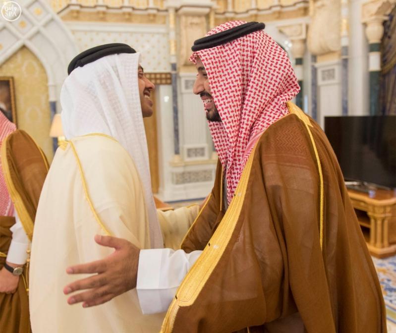 خادم الحرمين الشريفين يستقبل وزير الخارجية بدولة الإمارات العربية المتحدة4