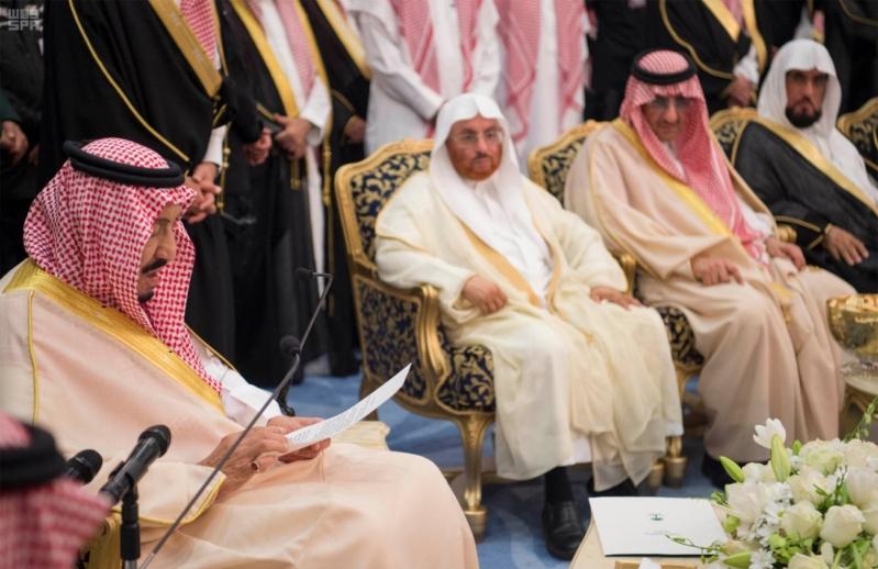 خادم الحرمين الشريفين يشرف حفل الاستقبال بإمارة المنطقة الشرقية 22