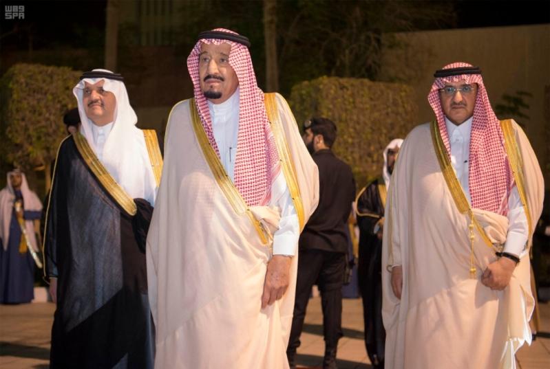 خادم الحرمين الشريفين يشرف حفل الاستقبال بإمارة المنطقة الشرقية 3443