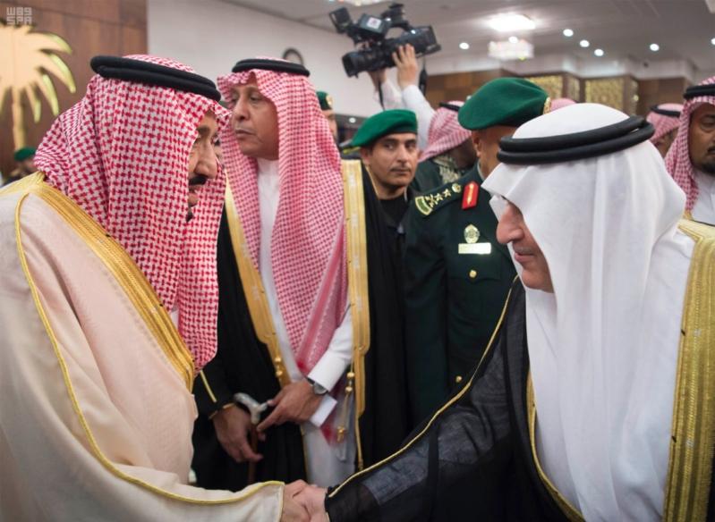 خادم الحرمين الشريفين يشرف حفل الاستقبال بإمارة المنطقة الشرقية 35