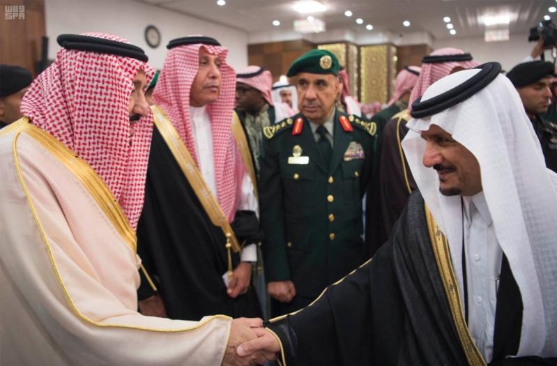 خادم الحرمين الشريفين يشرف حفل الاستقبال بإمارة المنطقة الشرقية 36