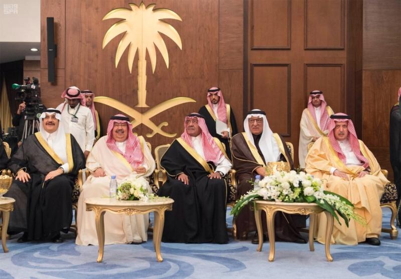 خادم الحرمين الشريفين يشرف حفل الاستقبال بإمارة المنطقة الشرقية 64
