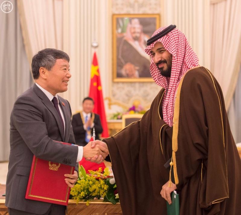خادم الحرمين الشريفين يعقد جلسة مباحثات مع فخامة الرئيس الصيني11