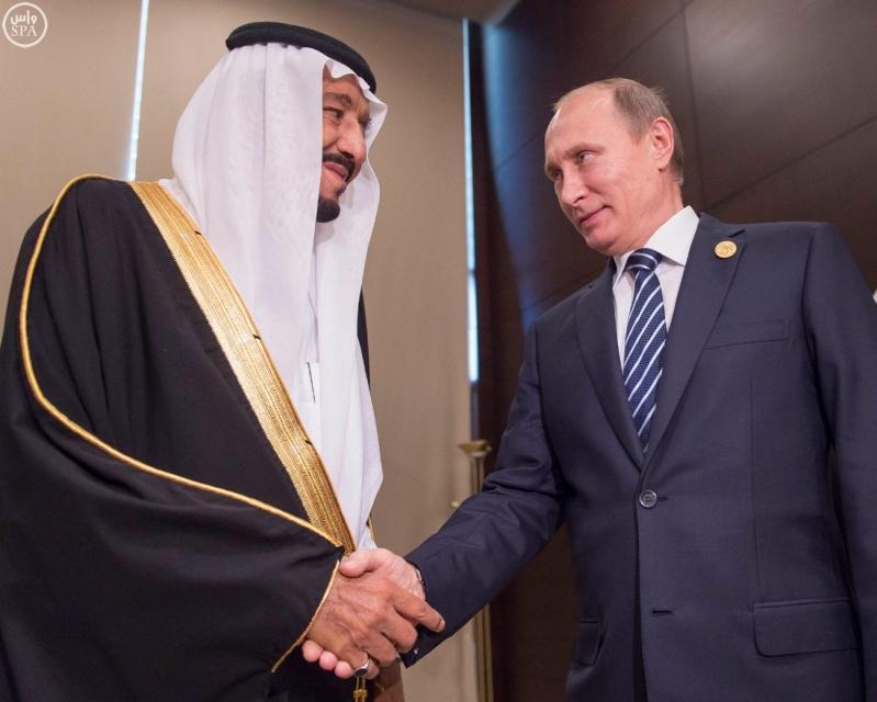 خادم الحرمين الشريفين يلتقي الرئيس الروسي على هامش أعمال قمة قادة دول مجموعة العشرين3