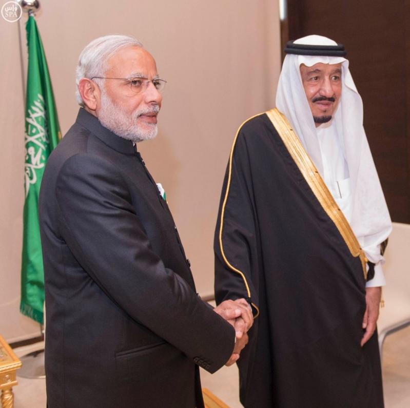خادم الحرمين الشريفين يلتقي رئيس الوزراء الهندي على هامش قمة قادة دول مجموعة العشرين 1