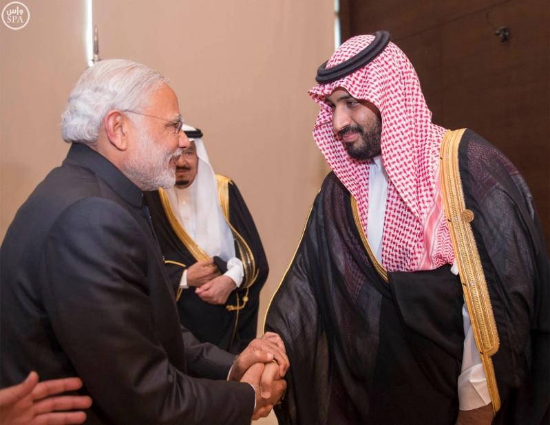 خادم الحرمين الشريفين يلتقي رئيس الوزراء الهندي على هامش قمة قادة دول مجموعة العشرين 3