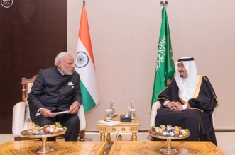 #خادم_الحرمين يلتقي رئيس وزراء #الهند على هامش #قمة_العشرين - المواطن