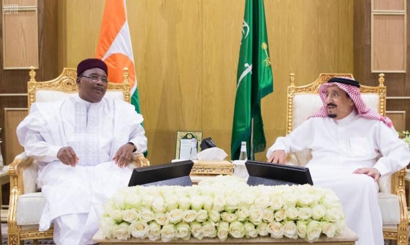 الملك يستعرض العلاقات الثنائية مع رئيس وزراء باكستان ورئيس النيجر - المواطن