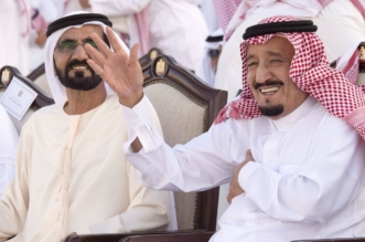 الشاعر مشعل بن عون للملك سلمان : وش تبي بالهنادي وأنت يمناك سيف - المواطن