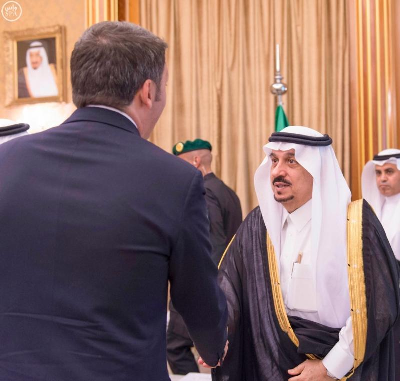 خادم الحرمين مع رئيس ايطاليا5