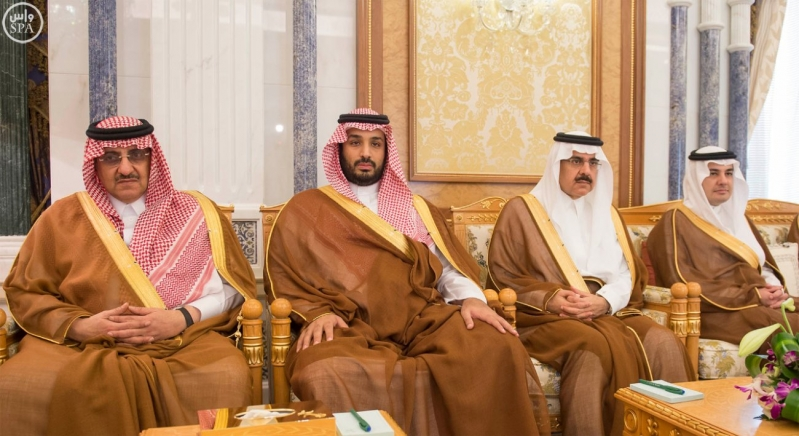 خادم الحرمين مع قائد باكستان