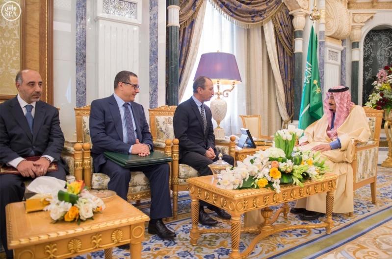 خادم الحرمين يتلقى رسالة من ملك المغرب1