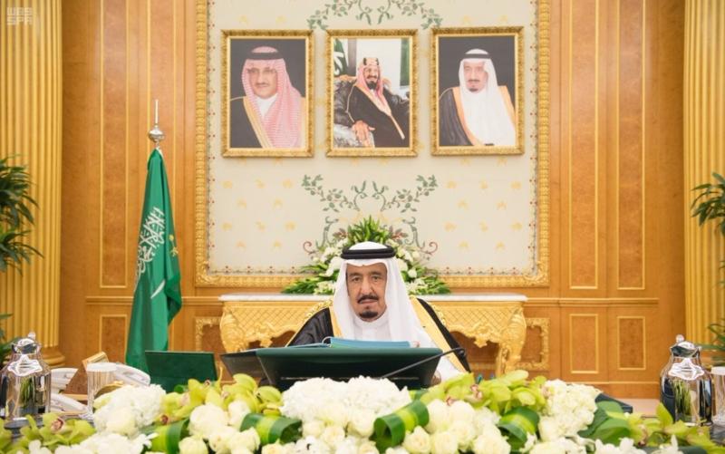 خادم الحرمين يرأس جلسة مجلس الوزار