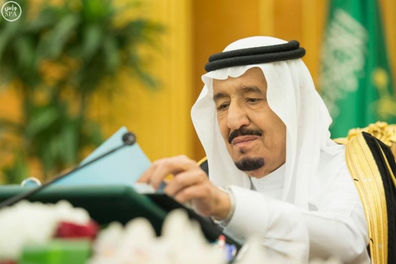 خادم الحرمين يرأس جلسة مجلس الوزراء1