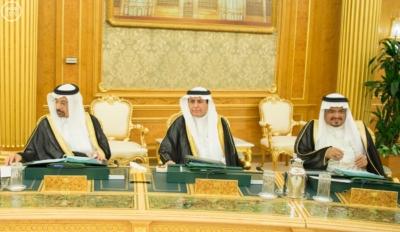 خادم الحرمين يرأس جلسة مجلس الوزراء9