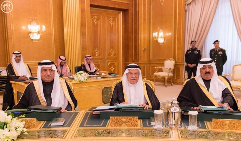 خادم الحرمين يرأس مجلس الوزراء12