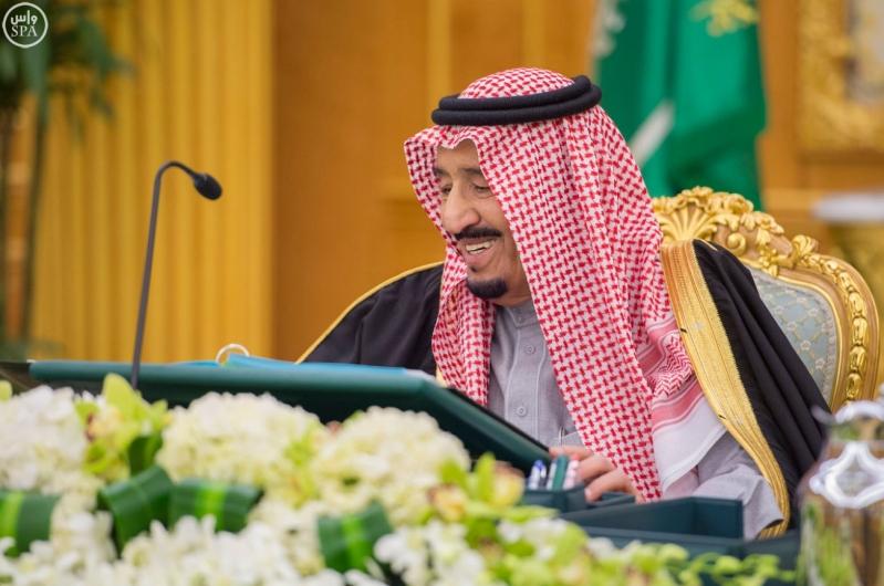 خادم الحرمين يرأس مجلس الوزراء2