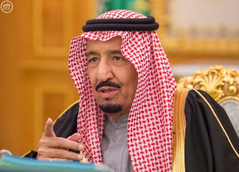 خادم الحرمين يرأس مجلس الوزراء4