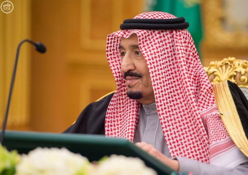 خادم الحرمين يرأس مجلس الوزراء5