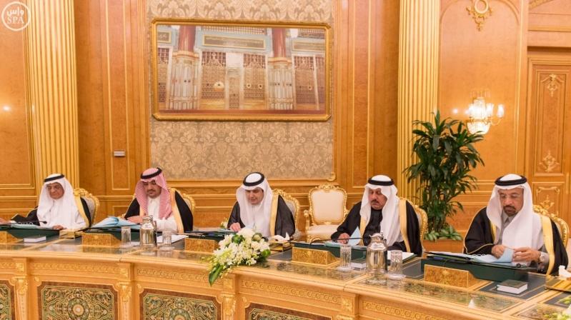 خادم الحرمين يرأس مجلس الوزراء8