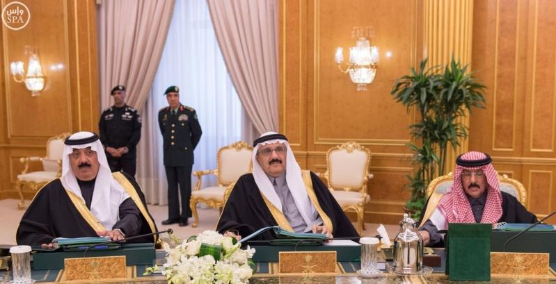خادم الحرمين يرأس مجلس الوزراء9
