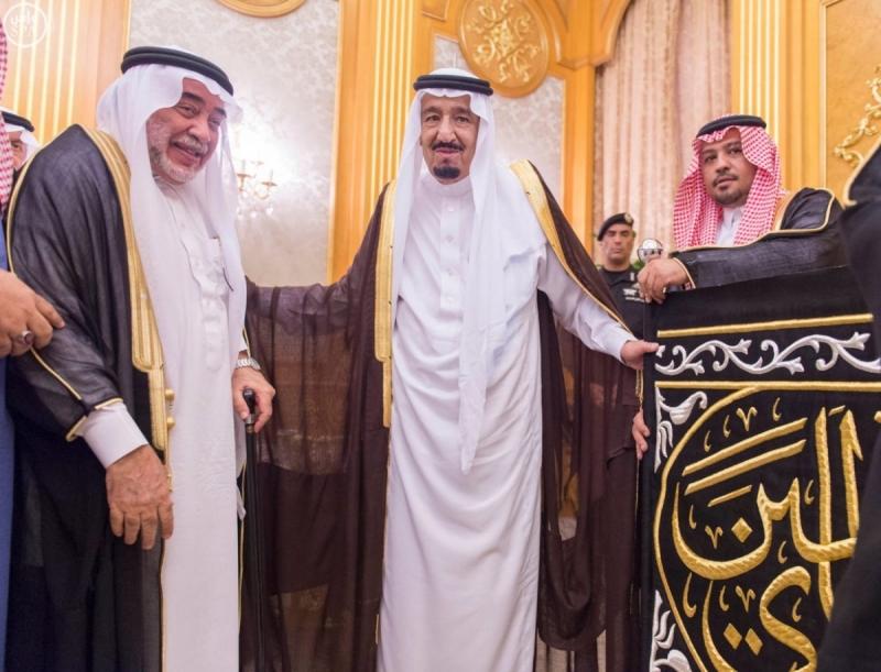 خادم الحرمين يستقبل الرئيس العام لشؤون المسجد الحرام والمسجد النبوي 4