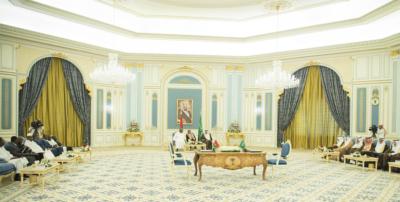 خادم الحرمين يستقبل رئيس بوركينافاسو (218177771) 