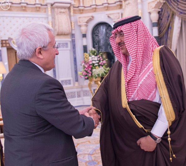 خادم الحرمين يستقبل سفير إيطاليا لدى المملكة2