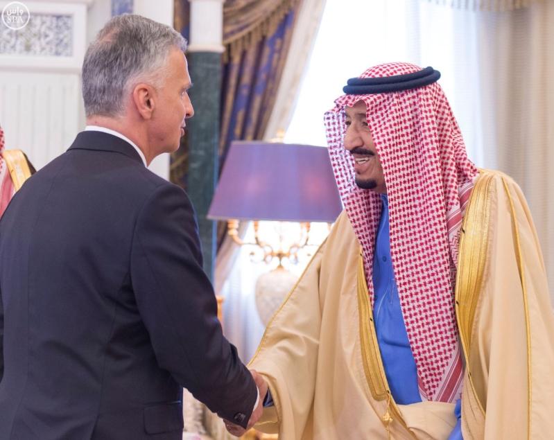 خادم الحرمين يستقبل وزير خارجية سويسرا1