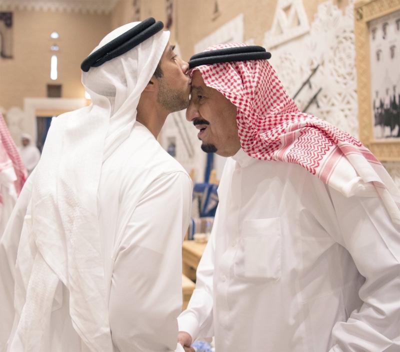 خادم الحرمين يستقبل ولي عهد أبو ظبي (107416733) 