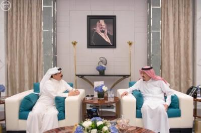 #خادم_الحرمين يستقبل ملك البحرين1