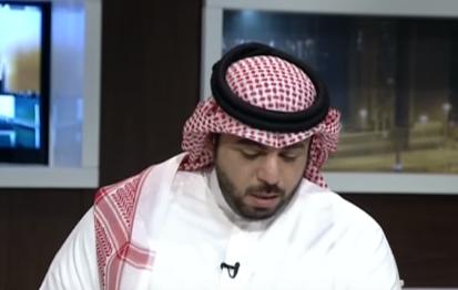 خالد العقيلي يبكي على الهواء