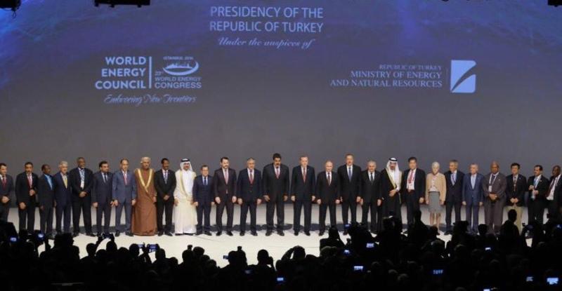 خالد الفالح مؤتمر الطاقة اسطنبول