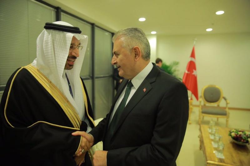 خالد الفالح مؤتمر الطاقة اسطنبول1
