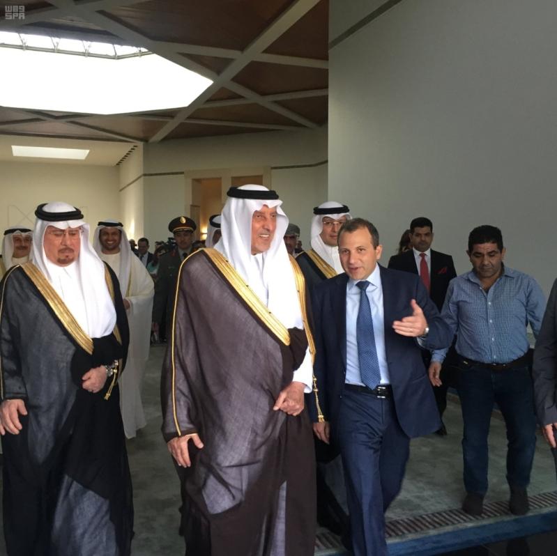 خالد الفيصل في بيروت