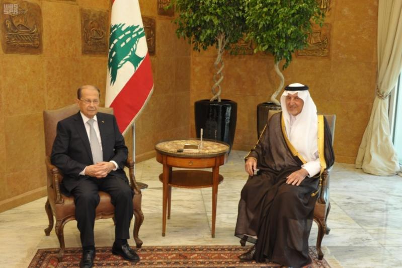 خالد الفيصل في لبنان
