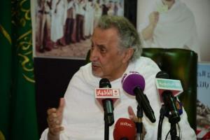 خالد الفيصل في منى