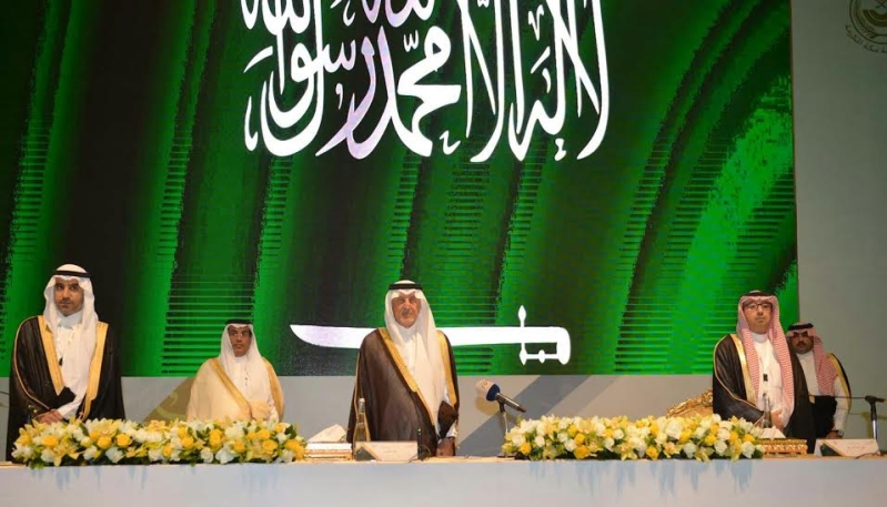 خالد الفيصل في ورشة للتنمية2