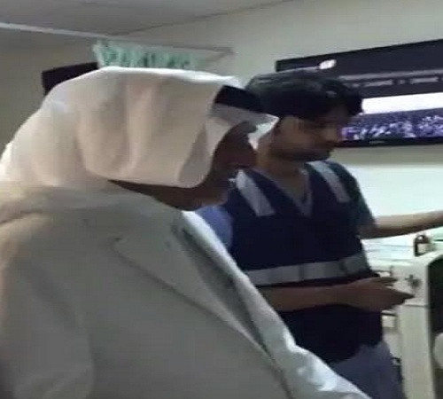 خالد الفيصل يزور المصابين